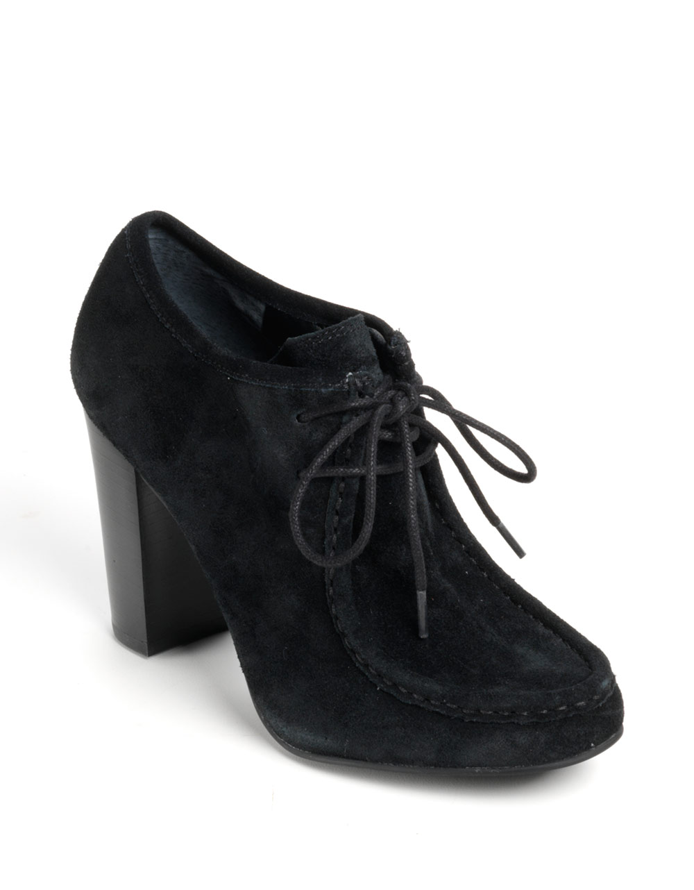773c8ed7a49c Lauren by Ralph Lauren Samara Suede Ankle Boots in Black - Lyst