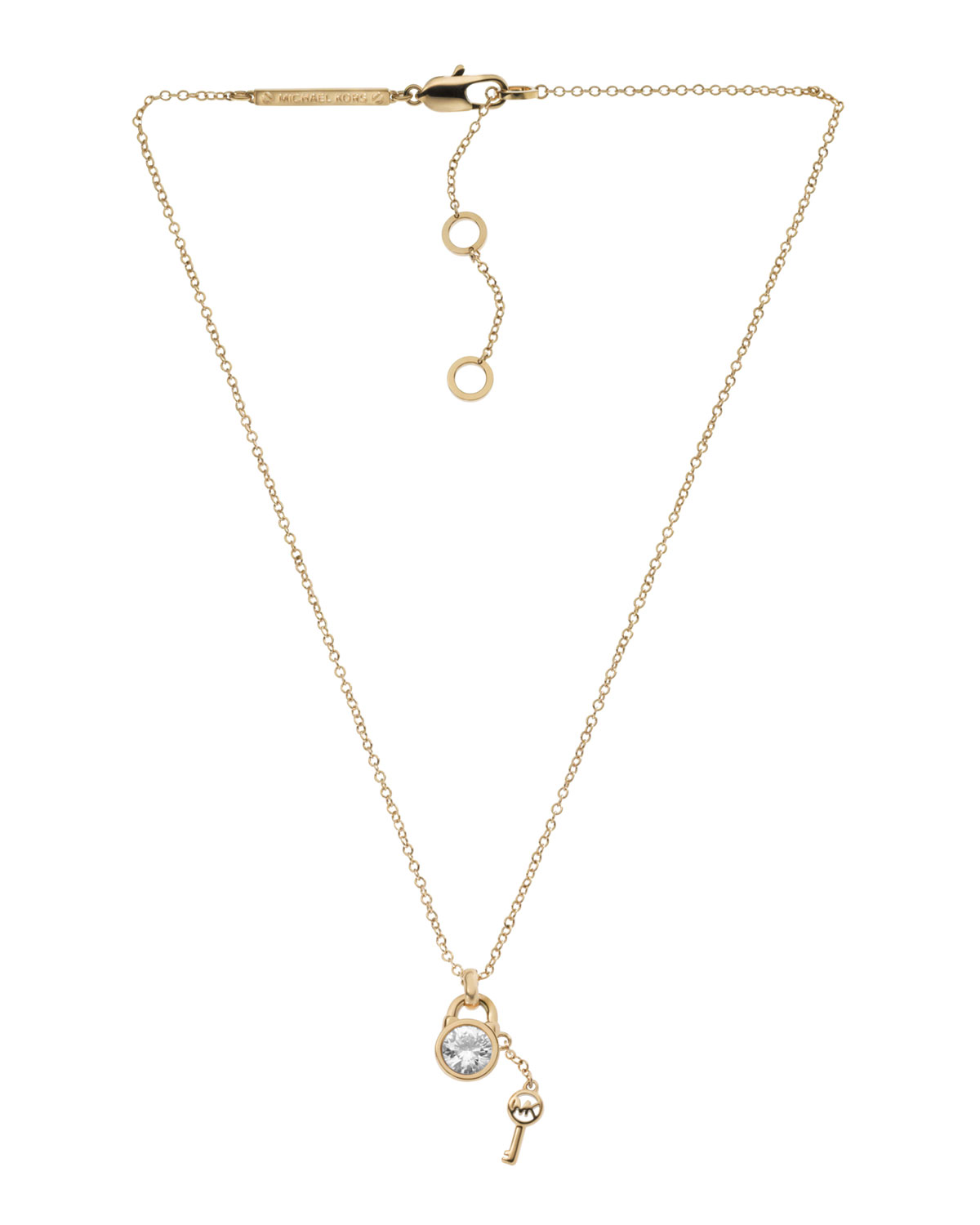 ad969877cbaaa Gallery. Previously sold at  Neiman Marcus · Women s Padlock Necklaces  Women s Michael Kors Charm ...