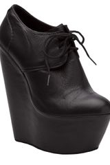 Penelope And Coco Platform Wedge Bootie - Lyst