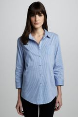 Elizabeth And James Cohen Striped Shirt - Lyst