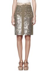 Tory Burch Ciara Skirt - Lyst