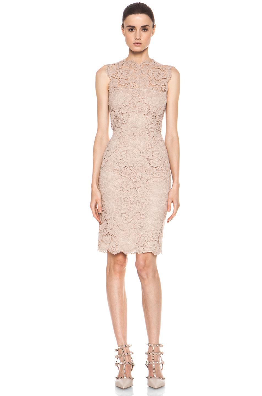 Nude Lace Dress 78