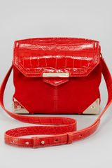 Alexander Wang Marion Small Crossbody Bag Orange - Lyst