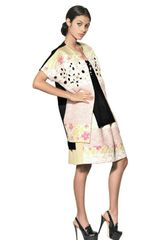 Antonio Marras Embroidered Jacquard Cotton Drill Coat - Lyst