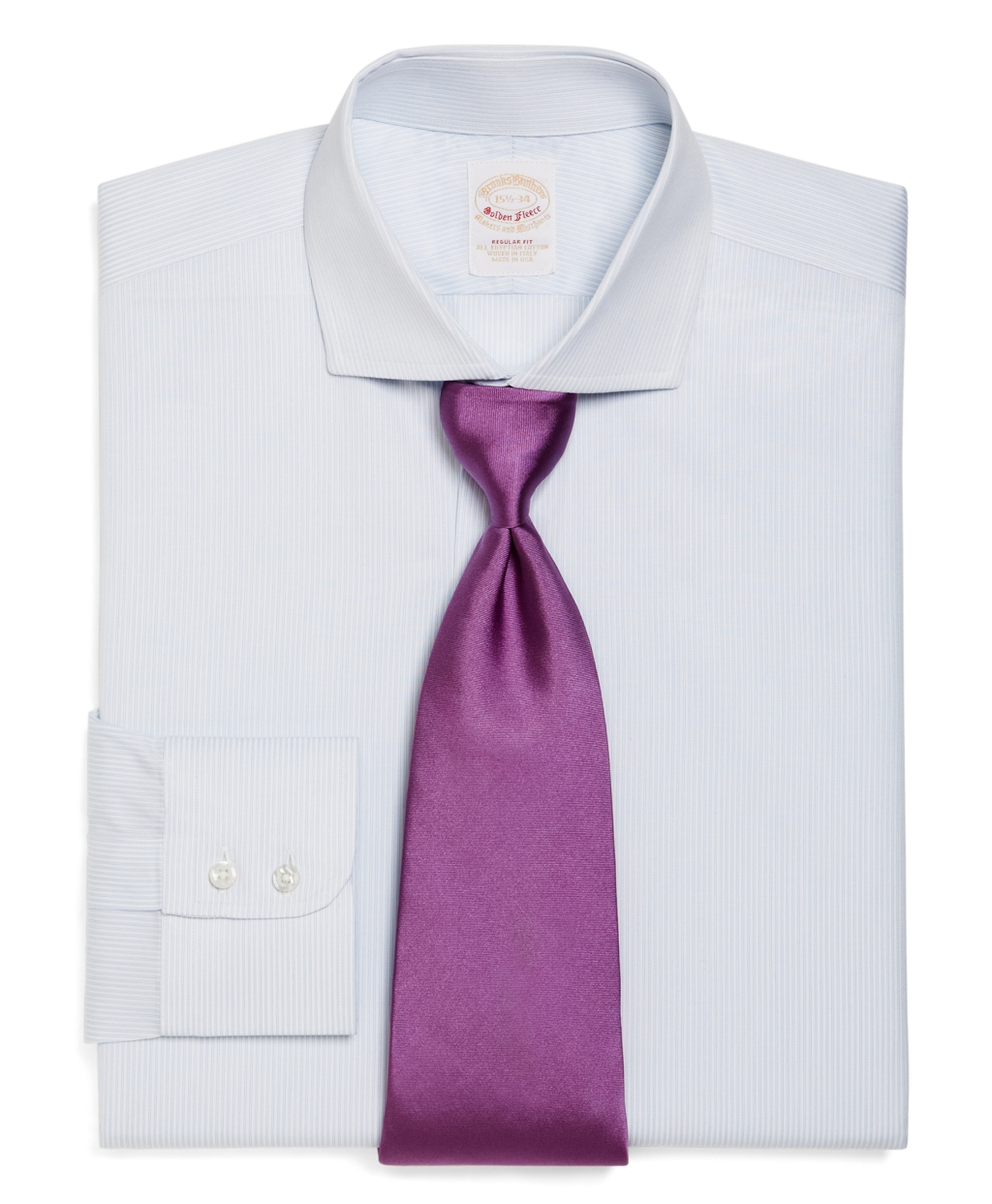 Brooks brothers golden fleece madison fit double for Brooks brothers dress shirt fit guide