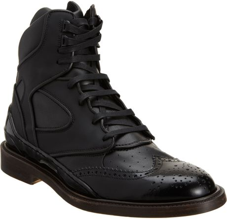 Givenchy Hybrid High Top in Black for Men