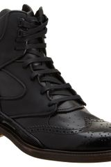 Givenchy Hybrid High Top in Black for Men - Lyst