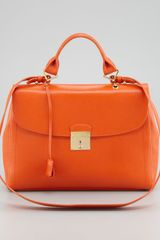 Marc Jacobs The Satchel Bag Mandarin - Lyst