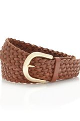 Michael by Michael Kors Braided Belt - Lyst