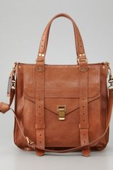 Proenza Schouler Ps1 Tote Bag Saddle - Lyst