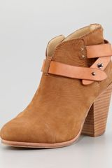 Rag & Bone Harrow Nubuck Ankle Boot - Lyst