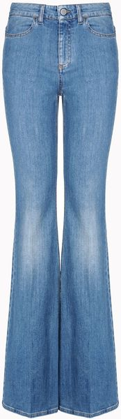 Stella McCartney Classic Denim Flared Jeans - Lyst