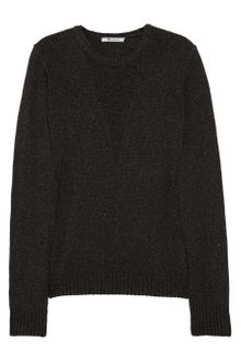 T By Alexander Wang Cotton-Blend Sweater - Lyst