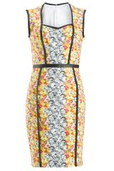 Yigal Azrouel Ikat Pencil Dress