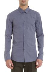 Jil Sander Solid Dress Shirt - Lyst
