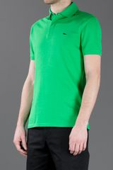 Ralph Lauren Polo Shirt in Green for Men - Lyst