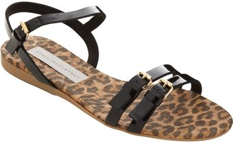 Stella McCartney Double Band Flat Sandal - Lyst