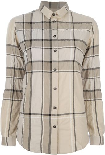Burberry Brit Trench Print Shirt - Lyst