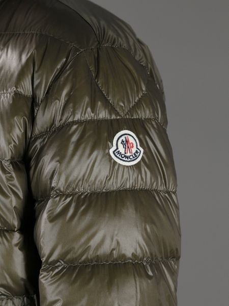 Moncler Acorus Padded Jacket In Khaki For Men Lyst