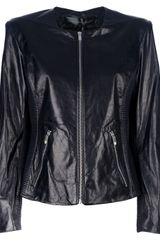 Theyskens' Theory Ribbed Panel Jacket - Lyst