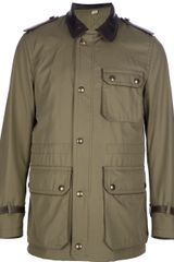 Burberry Field Jacket - Lyst