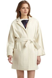 Cacharel Wool Coat - Lyst