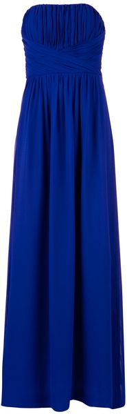 Ted Baker Ateka Pleated Bodice Maxi Dress - Lyst