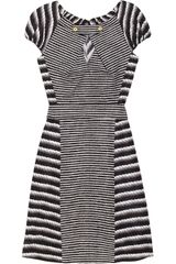Yves Saint Laurent Printed Cotton and Silkblend Dress - Lyst