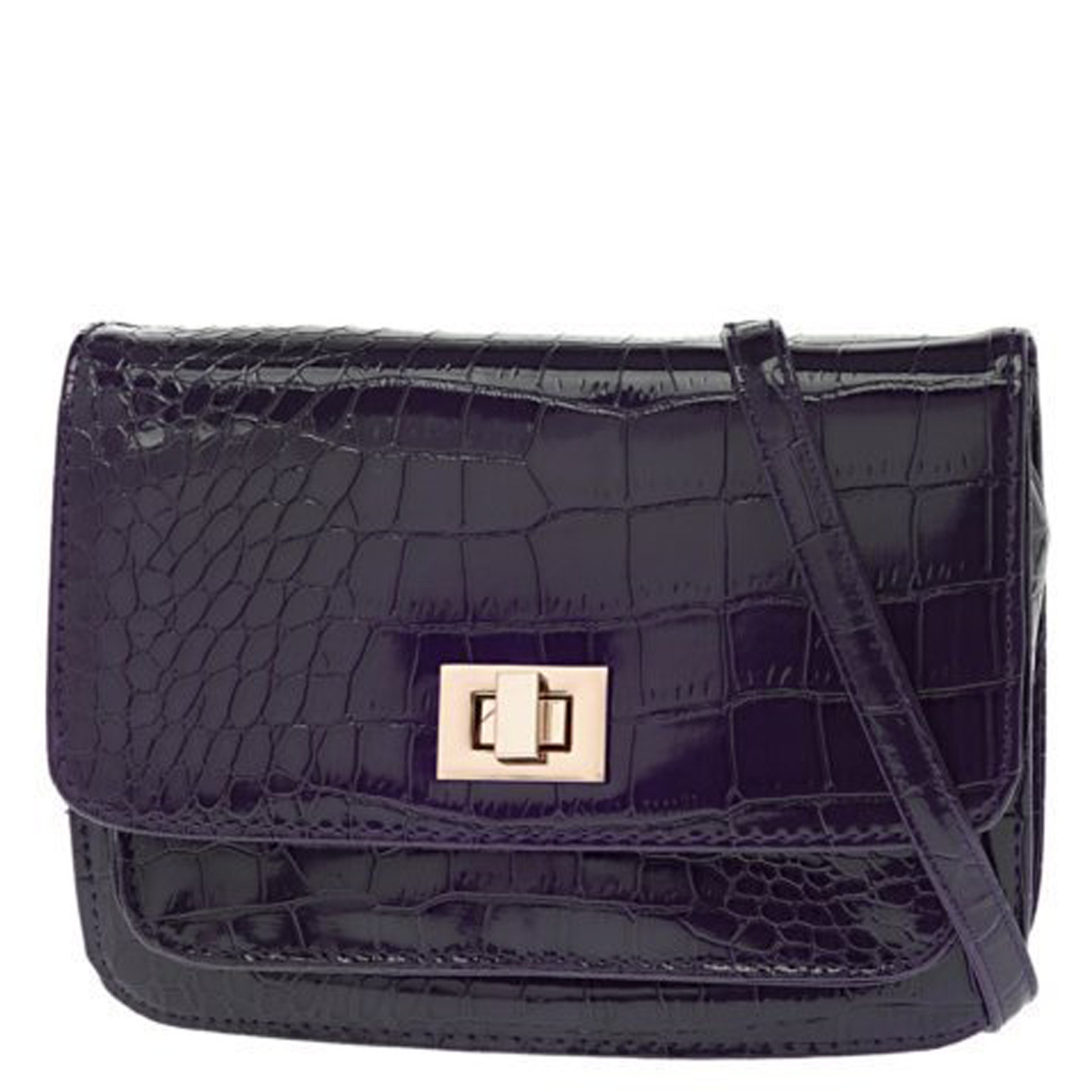 Lyst Aldo Grisso Shoulder Bag In Purple