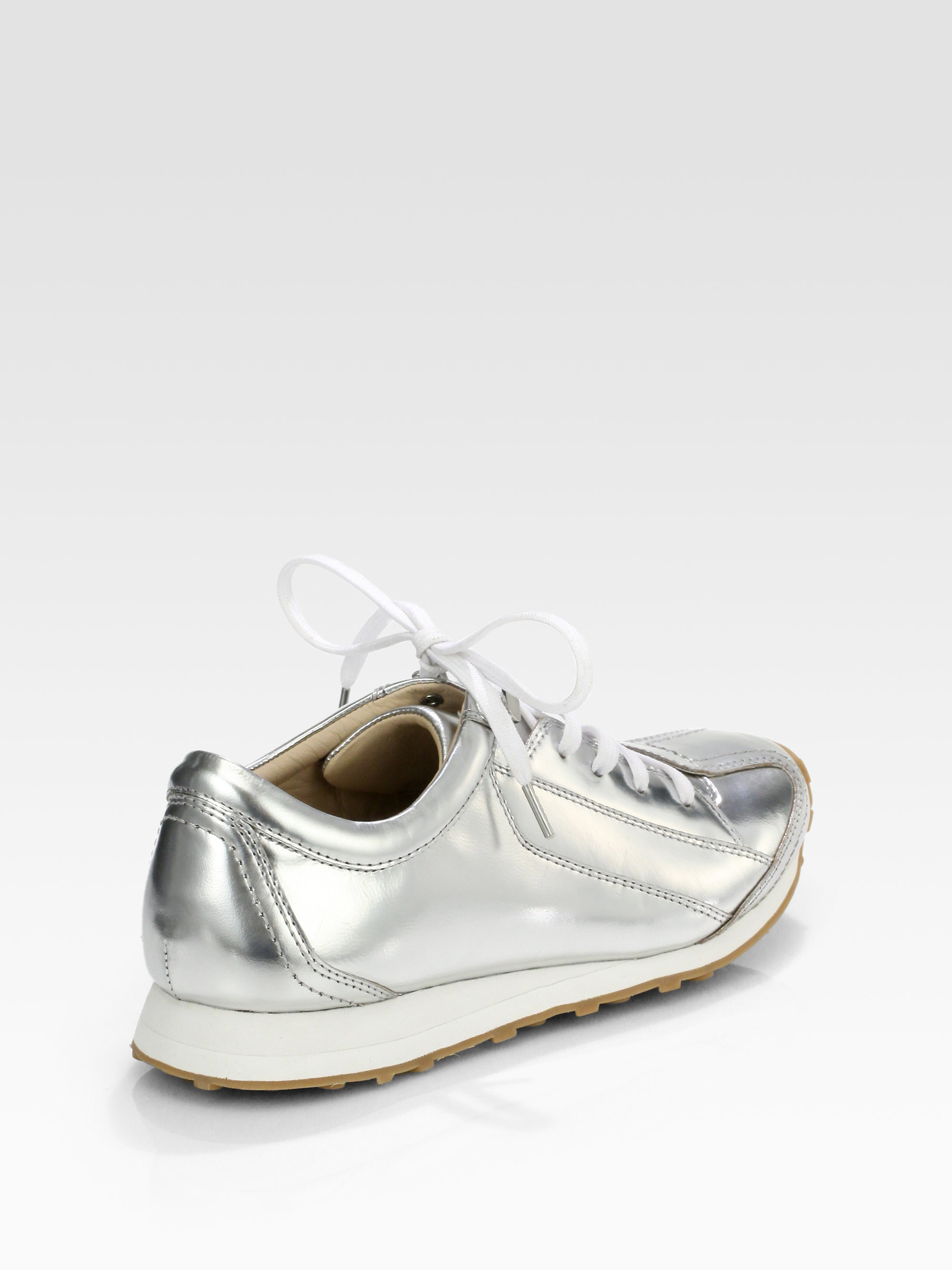 outlet online big discount cheap price Elizabeth and James Metallic Leather Sneakers for cheap cheap online sale cheap prices cheap online wrT80y