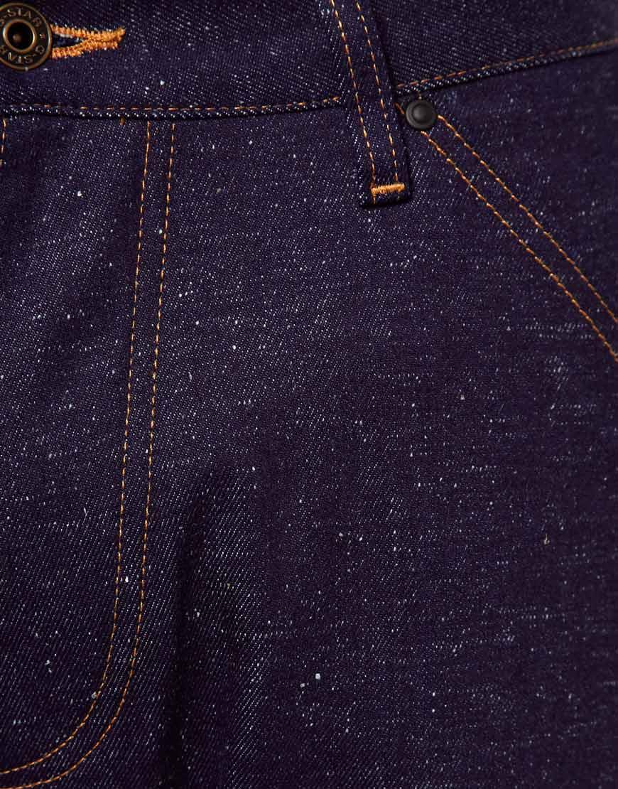 asos g star jeans elwood 3d loose fit rigid raw in blue. Black Bedroom Furniture Sets. Home Design Ideas
