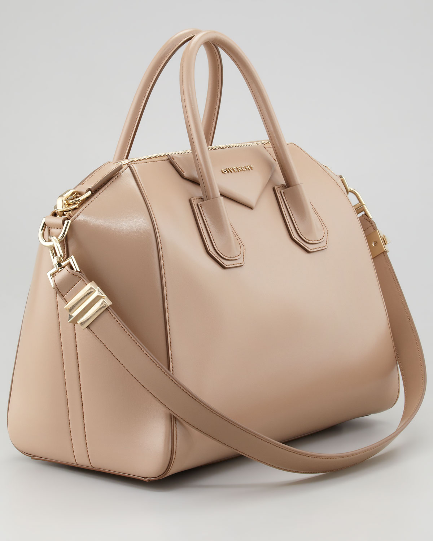 7b9b1c8dd3c9 Lyst - Givenchy Antigona Medium Satchel Bag L in Natural