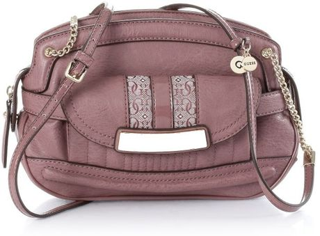 Guess Candence Small Crossbody in Pink (bordeaux) - Lyst