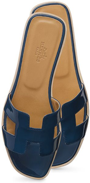 Herm 232 S Oran Shoes In Blue Darkblue3 Lyst