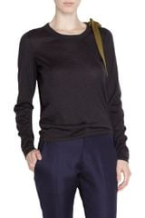 Jil Sander Bow Sweater