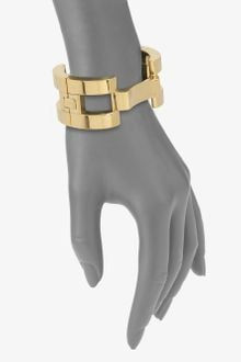 Michael Kors Hinged Link Bangle Bracelet - Lyst