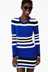 Nasty Gal Striped Dress - Lyst