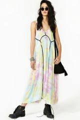 Nasty Gal Dirty Cash Maxi Dress - Lyst