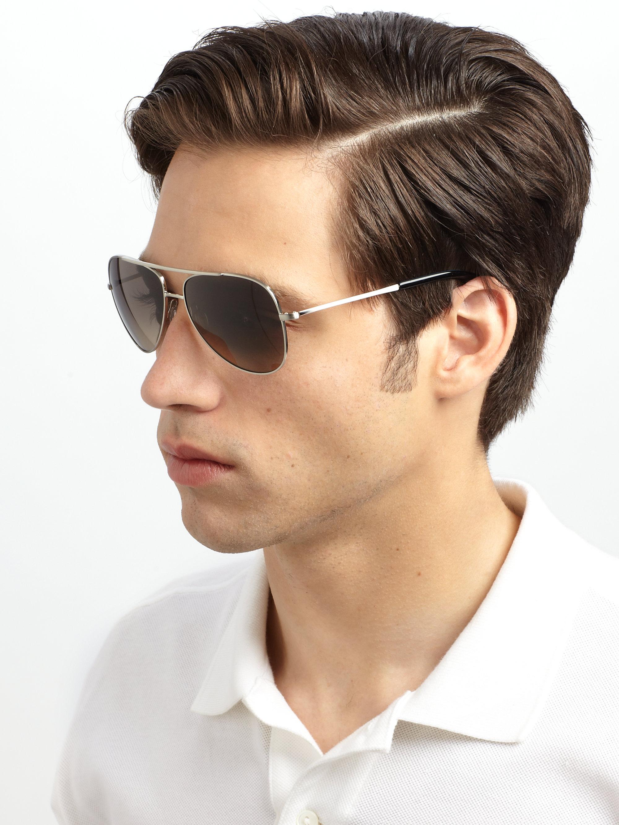 1ad75e70da4a0 Lyst - Paul Smith Barrick Sunglasses in Metallic for Men