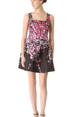 RED Valentino Lily Drop Waist Dress - Lyst