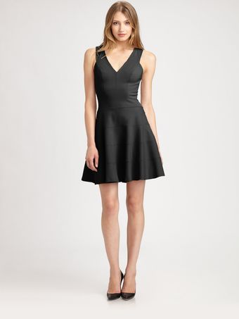 Robert Rodriguez Fit Flare Dress - Lyst