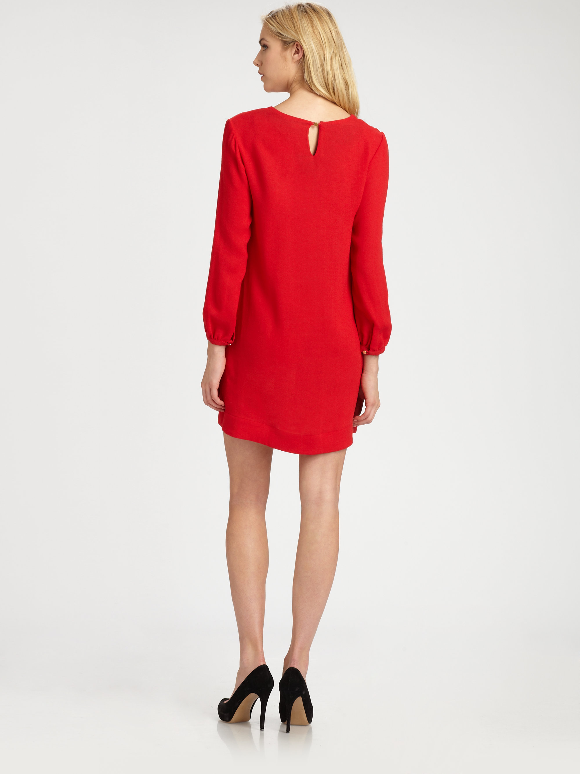 aae2e9e31ef Lyst - Steven Alan Sammy Dress in Red