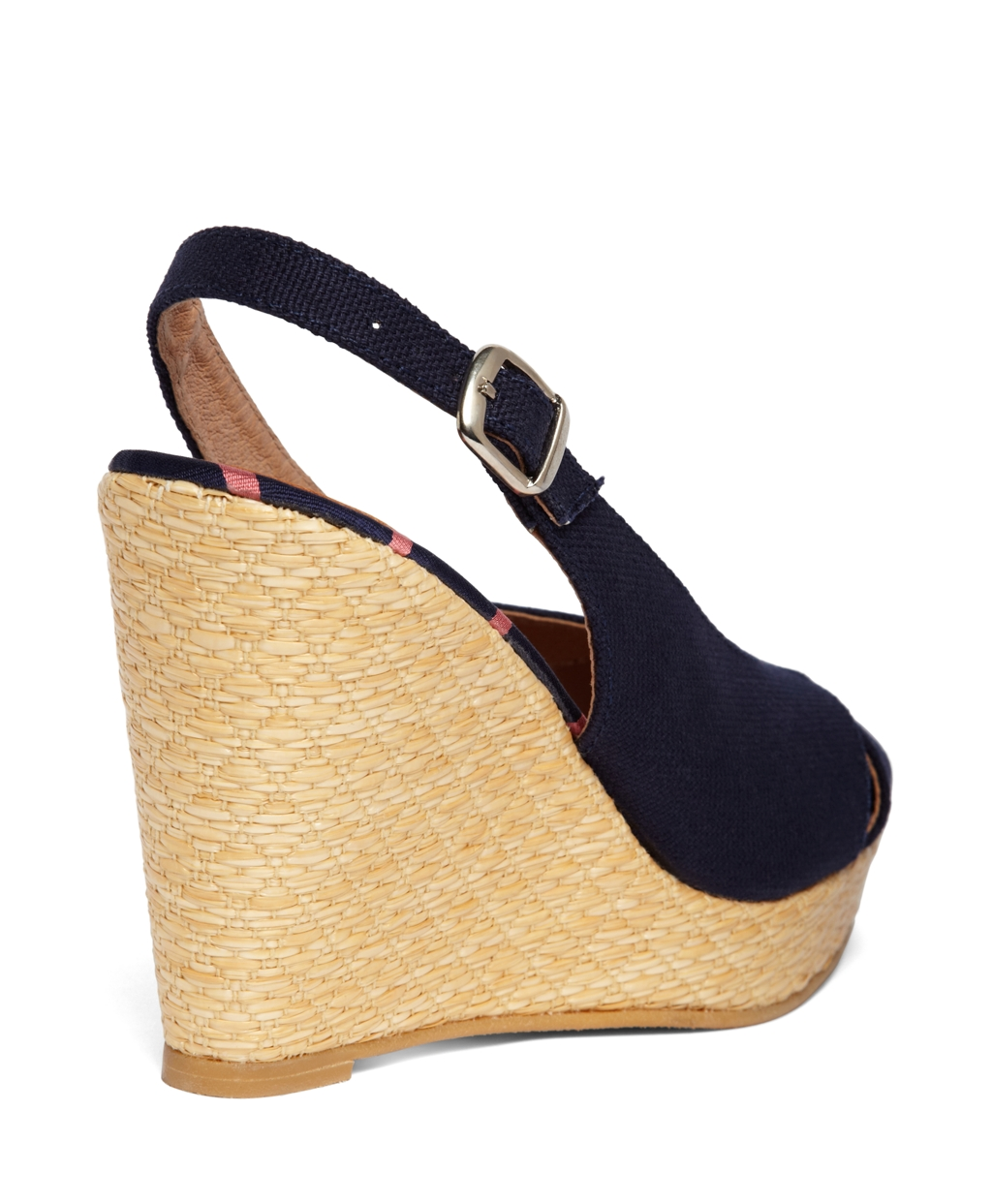 how to clean canvas wedges