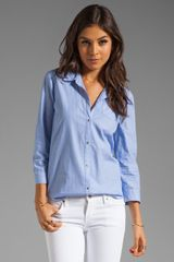 Elizabeth And James Rumpled Cohen Shirt - Lyst