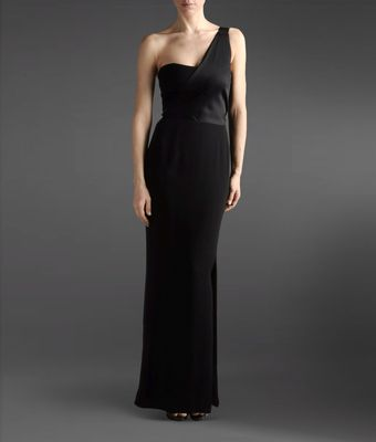 Emporio Armani Long Dress - Lyst