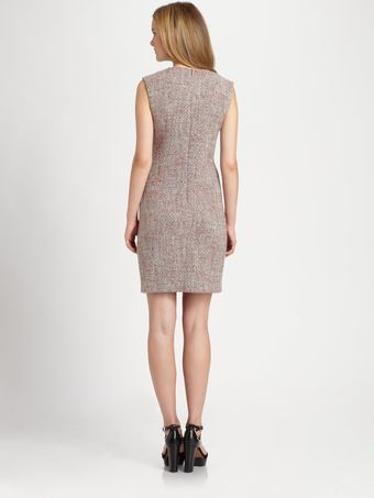 La Via 18 Mixedmedia Shift Dress - Lyst