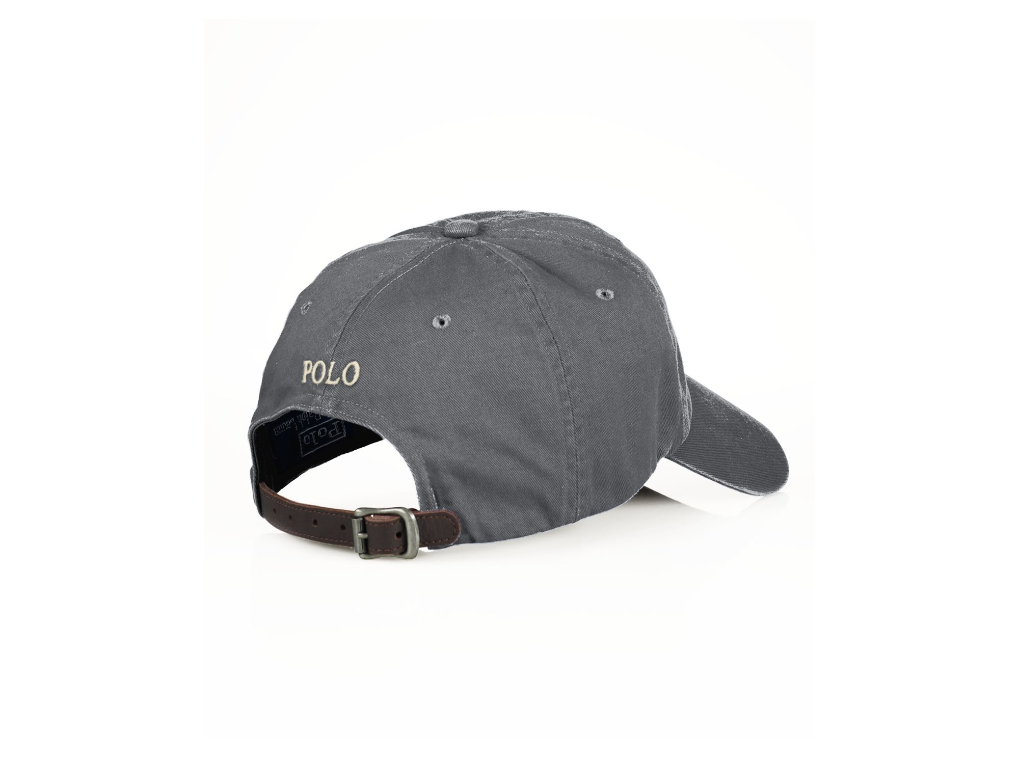 Lyst Ralph Lauren Polo Classic Chino Sport Cap In Gray