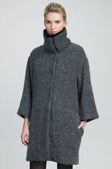 Armani Wool Coat - Lyst