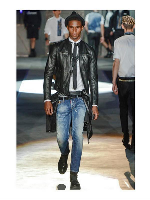 Men Black Slim Jeans