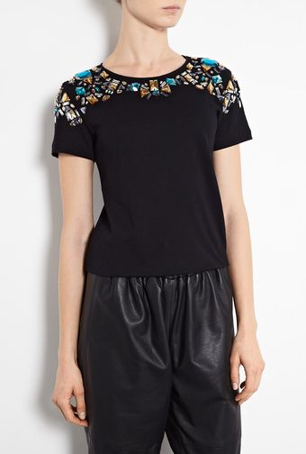 Elizabeth And James Victoria Cotton T-Shirt - Lyst